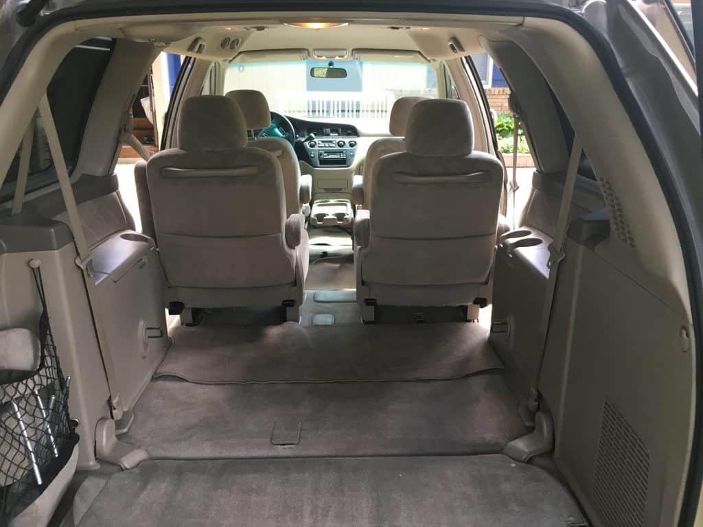 Honda Odyssey Interior Measurements - Odyssey Camper