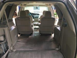 Honda Odyssey Interior Measurements Odyssey Camper