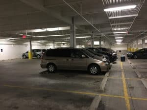 Stealth Camping In A Chicago Parking Garage And No One Suspects Thing