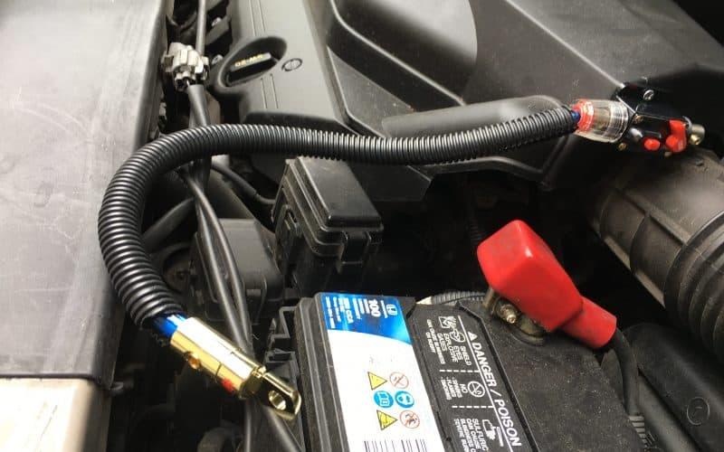 Installation kit for RV inverter