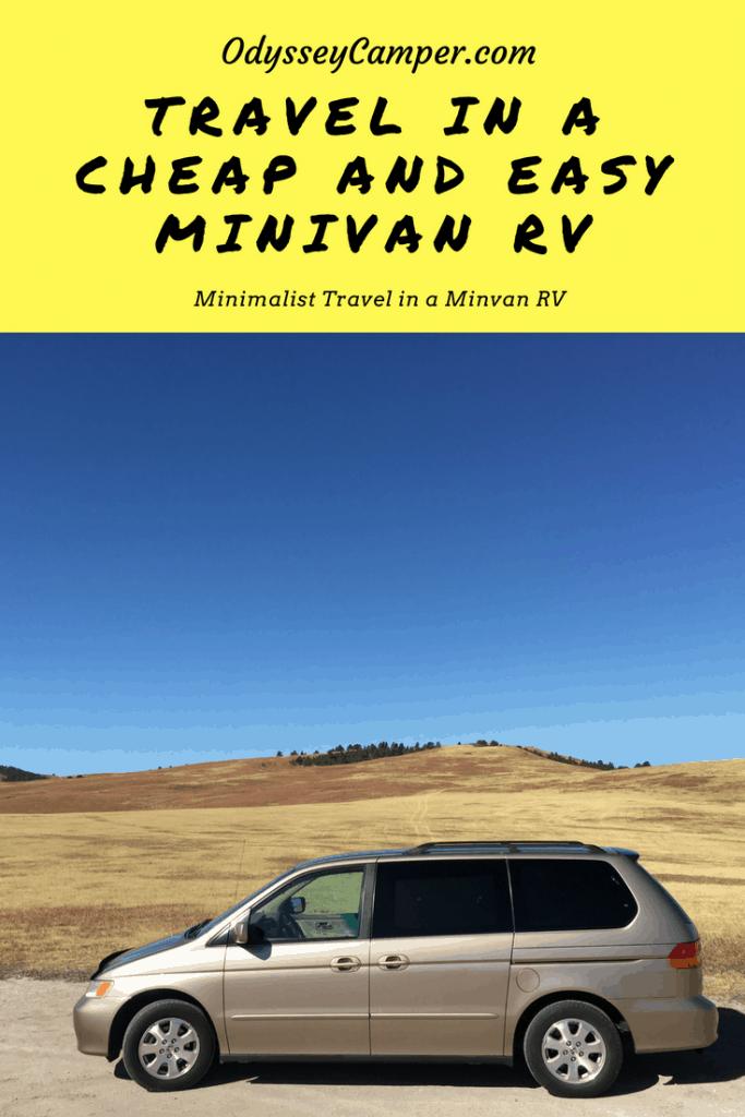 minivan camper diy