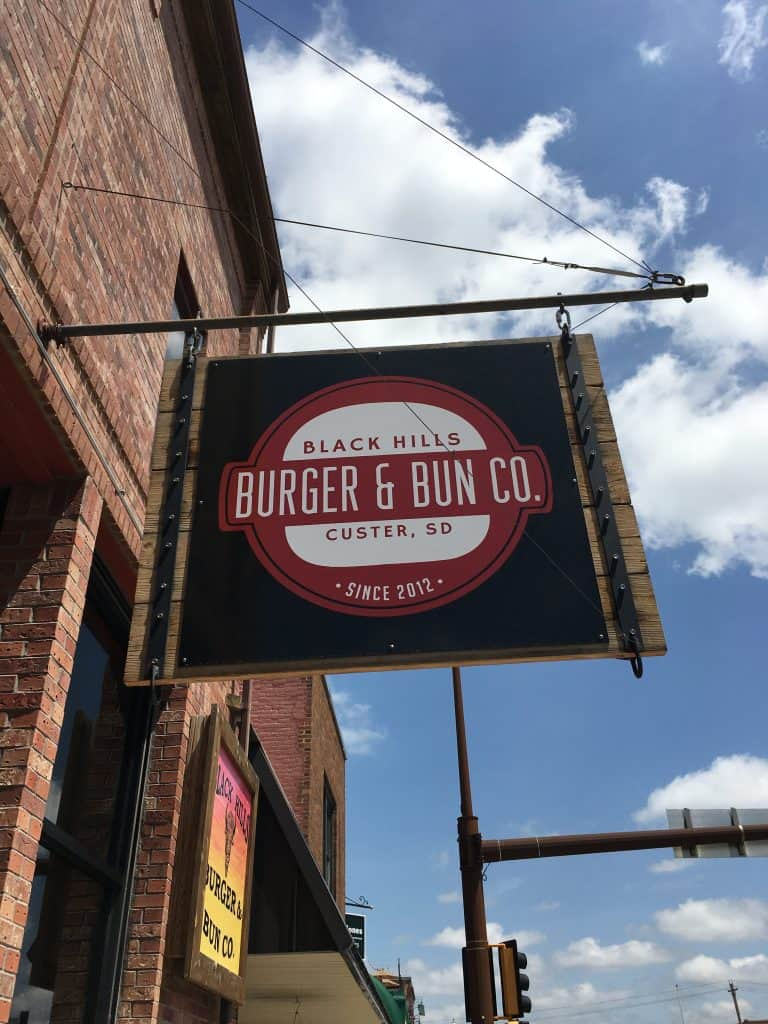 Review of the burger and bun co. Custer, SD