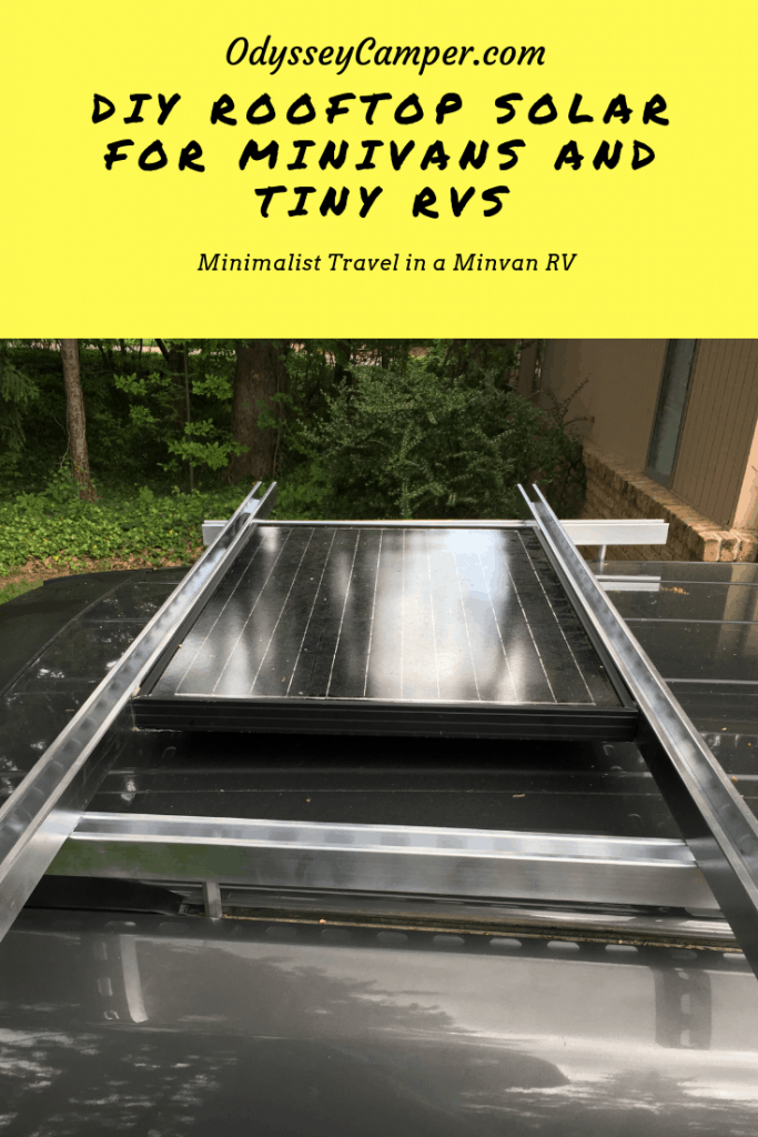 vandweller solar on roof