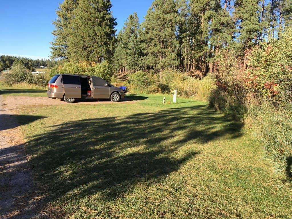 Minivan Camper Honda Odyssey
