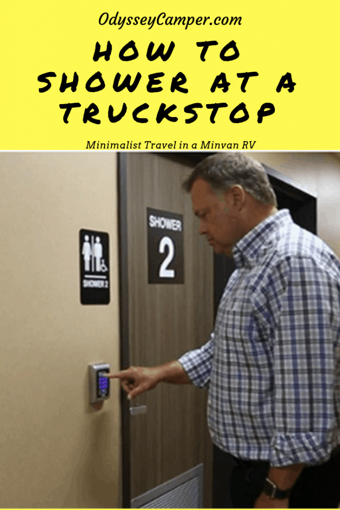 How to Shower at a Truckstop